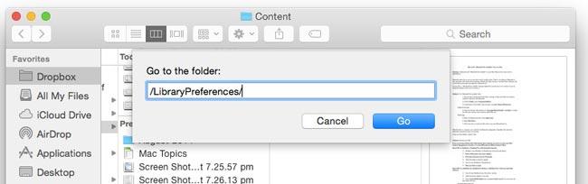 reset bluetooth preferences on mac