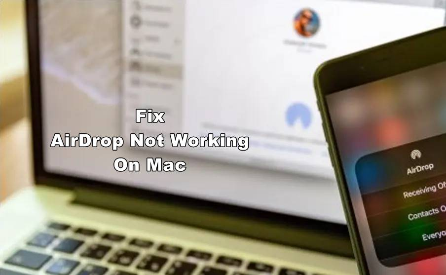airdrop not working on mac